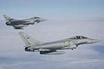RAF 3 and 11 Squadron Eurofighter Typhoon F2 Air-to-Air